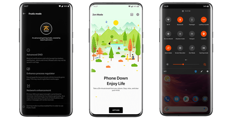 Oxygen OS Features