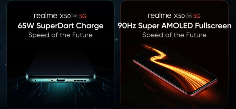 realme X50 5G Confirmed Features