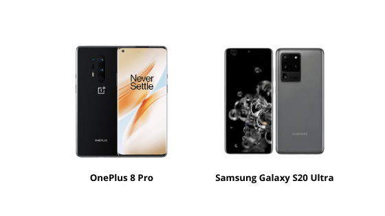OnePlus 8 Pro vs Samsung S20 Ultra