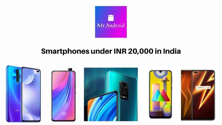 smartphones under 20,000