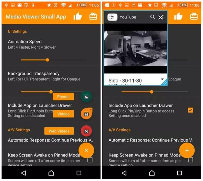 androidpit sony xperia small apps w782 Как слушать youtube с выключенным экраном на Android?