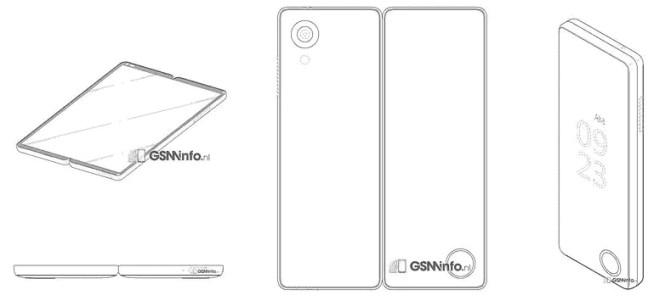 259 LG патентует два складных смартфона