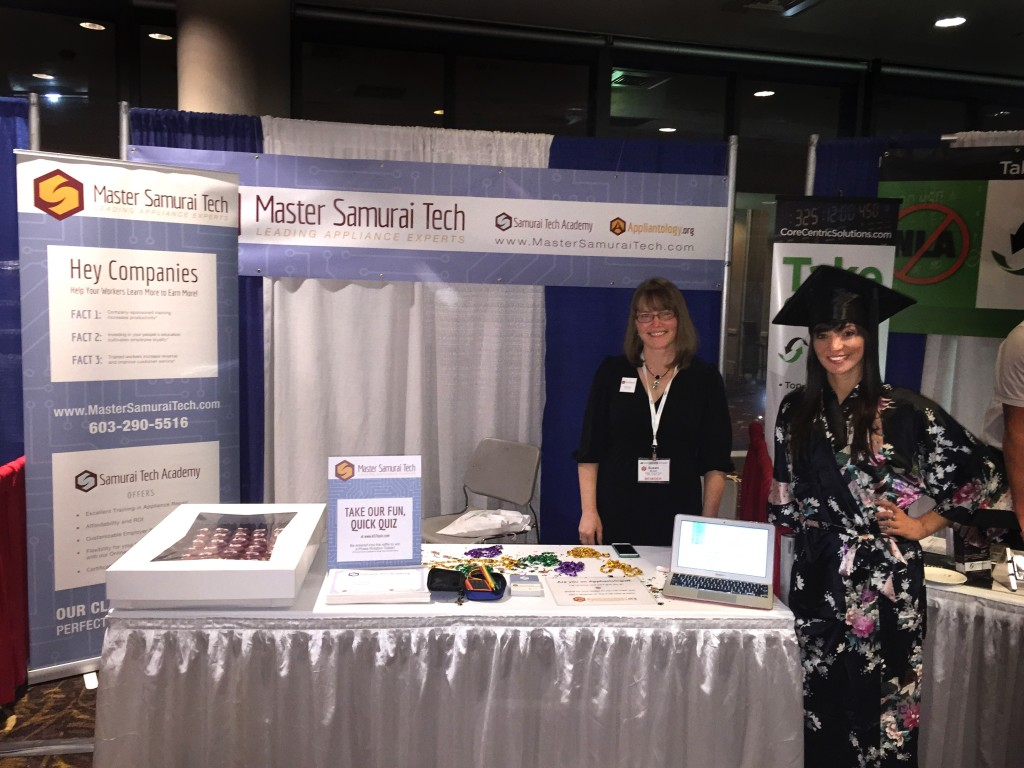 Master Samurai Tech ASTI Booth New Orleans 2015
