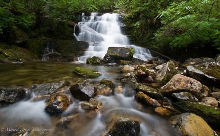 waterfall southeast Alaska