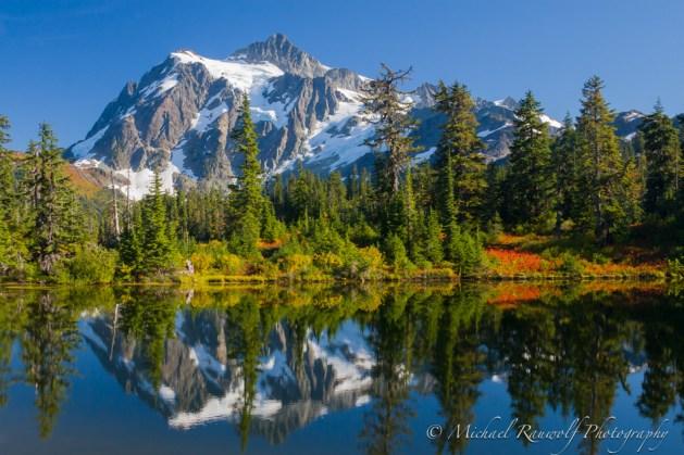 Mount Shuksan Mirror Lake