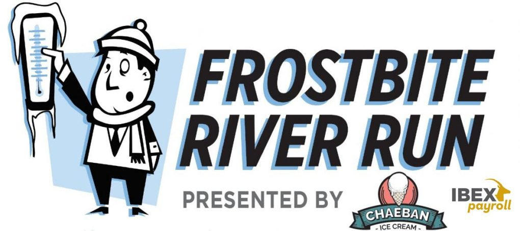 2020 Frostbite River Run logo