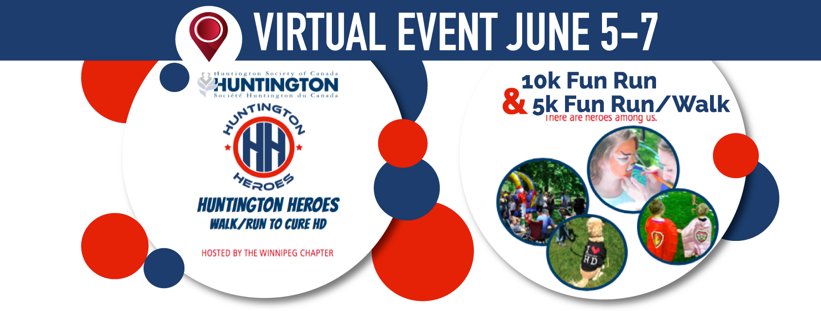 Huntington Heroes Walk to Cure HD  **VIRTUAL EVENT JUNE 5-7, 2020*