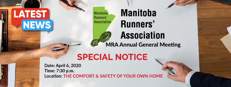Manitoba Runners' Association Annual General Meeting