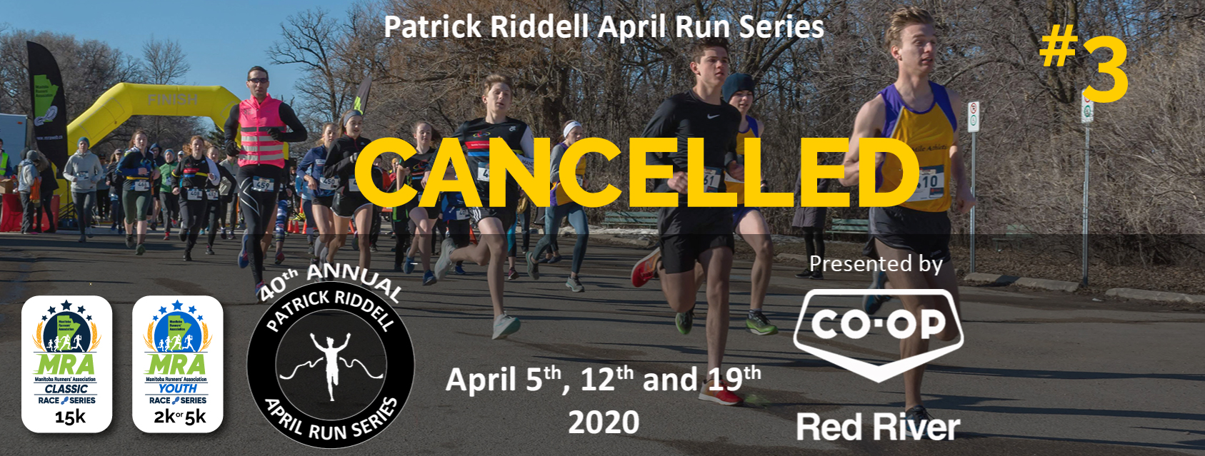 Patrick Riddell April Run Series #3 - Presented by Red River Co-op  **CANCELLED**
