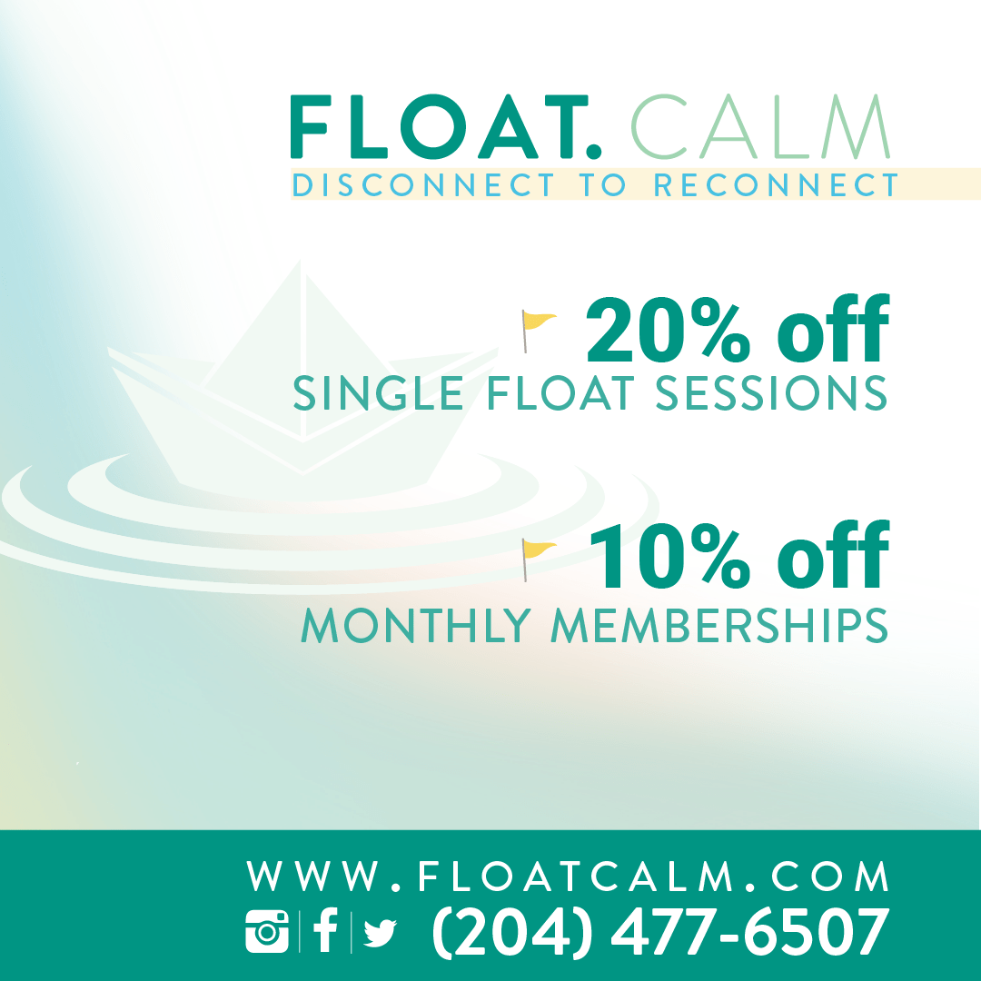 Float.Calm discount sponsor