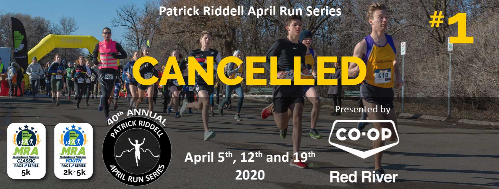 Patrick Riddell April Run Series #1- Presented by Red River Co-op  **CANCELLED**
