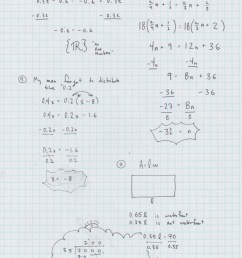 Yesterday's Work: Unit 2 - Balancing Linear Equations - Have a Problem? Use  Math to Solve It! [ 1100 x 850 Pixel ]