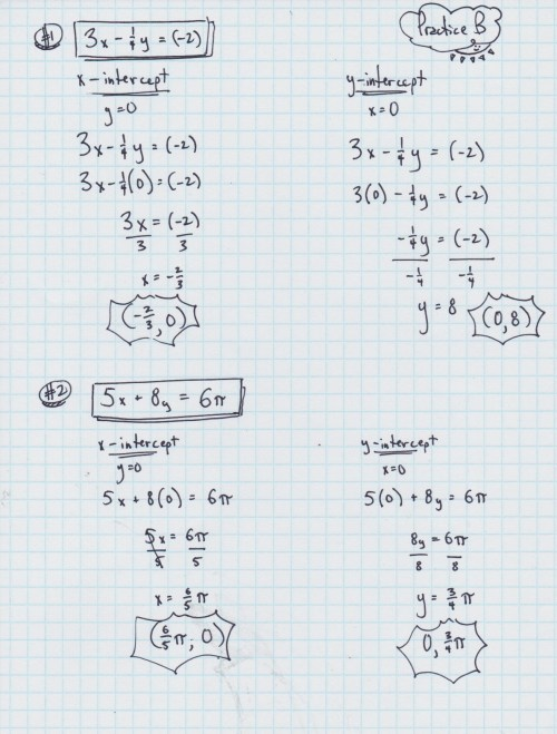 small resolution of Yesterday's Work: Unit 3: Linear Functions - Have a Problem? Use Math to  Solve It!