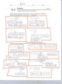Solving Rational Equations Worksheet Form G - solving ...