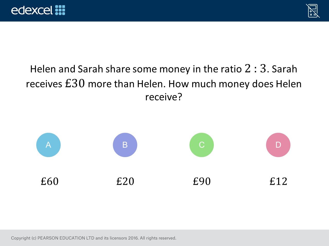 Sharing In A Ratio Foundation Higher Gcse Maths Question Of The Week On Mr Barton Maths