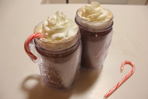 Peppermint Schnapps Hot Chocolate