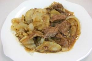 Slow Cooked Round Steak Casserole Recipe