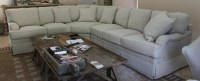 Reupholstered sectional sofa - MRB Custom Sofas