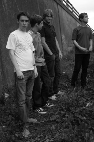 Band black and white 2