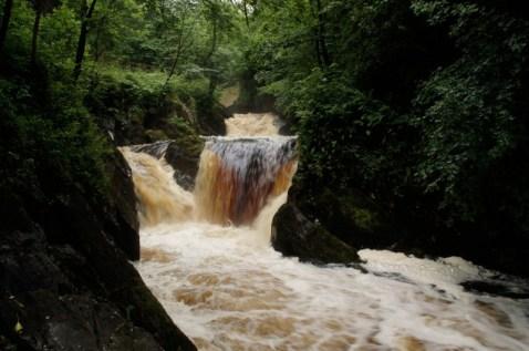 Ingleton waterfall 1