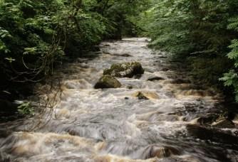 Ingleton waterfall 18