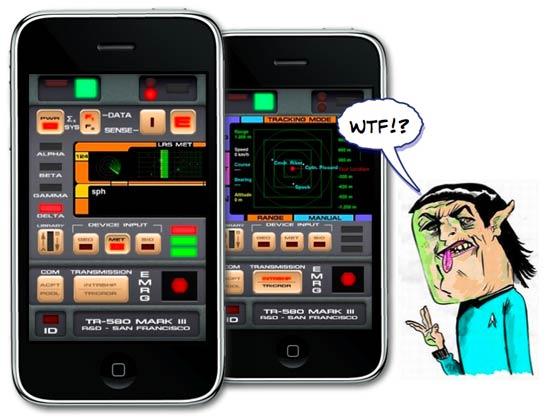 The Simpsons Iphone Wallpaper Iphone Savior Star Trek Tricorder Apps Get Beamed Down
