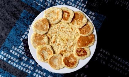 [Recette] Pancakes à la banane et aux flocons d'avoine