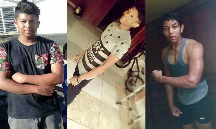 Transformation d'un ado : de gras à maigre, de maigre à musclé