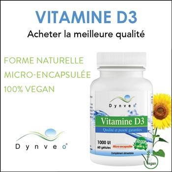 Vitamine D3 vegan Dynveo