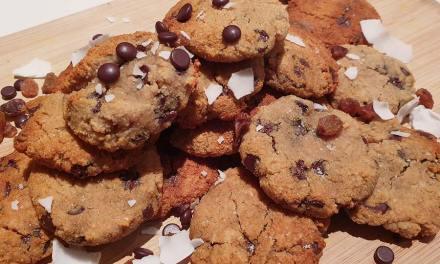 [Recette] Cookies sans céréales, sans gluten et vegan (grain free cookies)