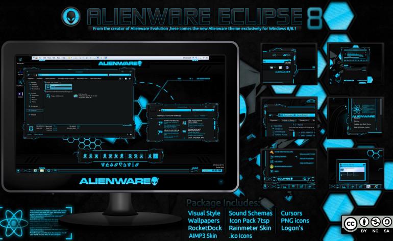 Alienware Eclipse Blue 8/8 1