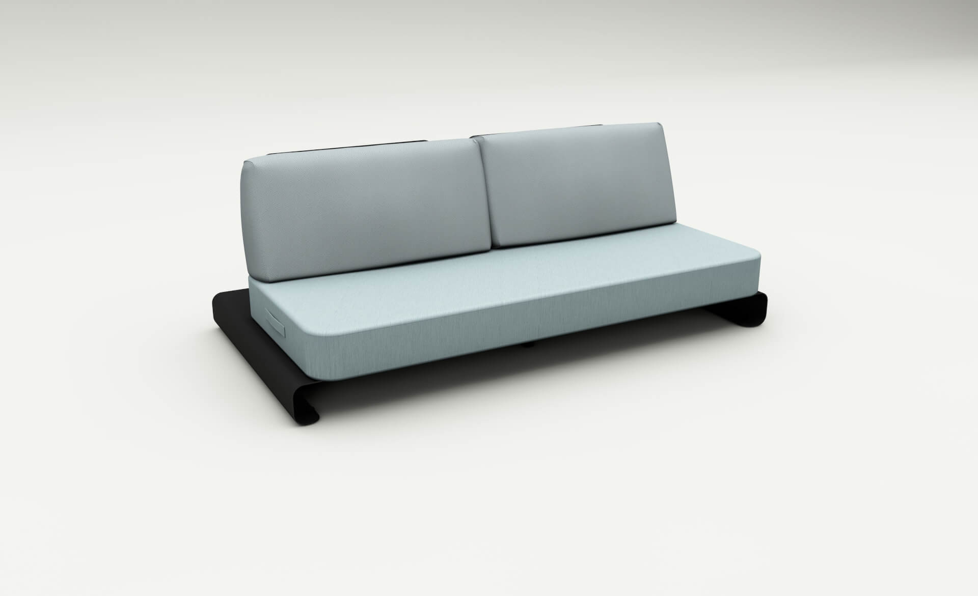 black outdoor sofa leather reclining sectional joanne lounge and blue mr sky