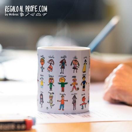 taza personalizada regalos para profesores