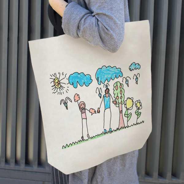 eco tote bolsa personalizada dibujos mr broc