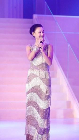Cecilia Cheung in Michael Kors Pre-Fall 2017-2