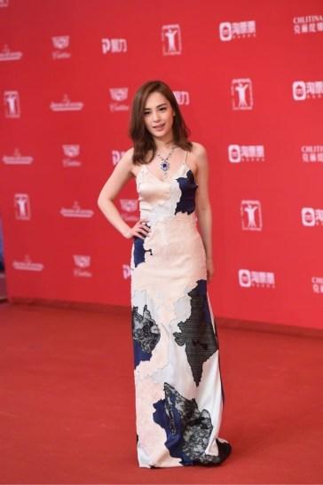 Gillian Chung Yan Tung in La Perla Spring 2017