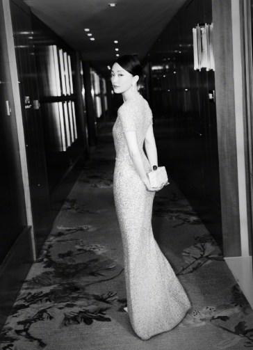 Zhou Xun in Chanel Pre-Fall 2017-1
