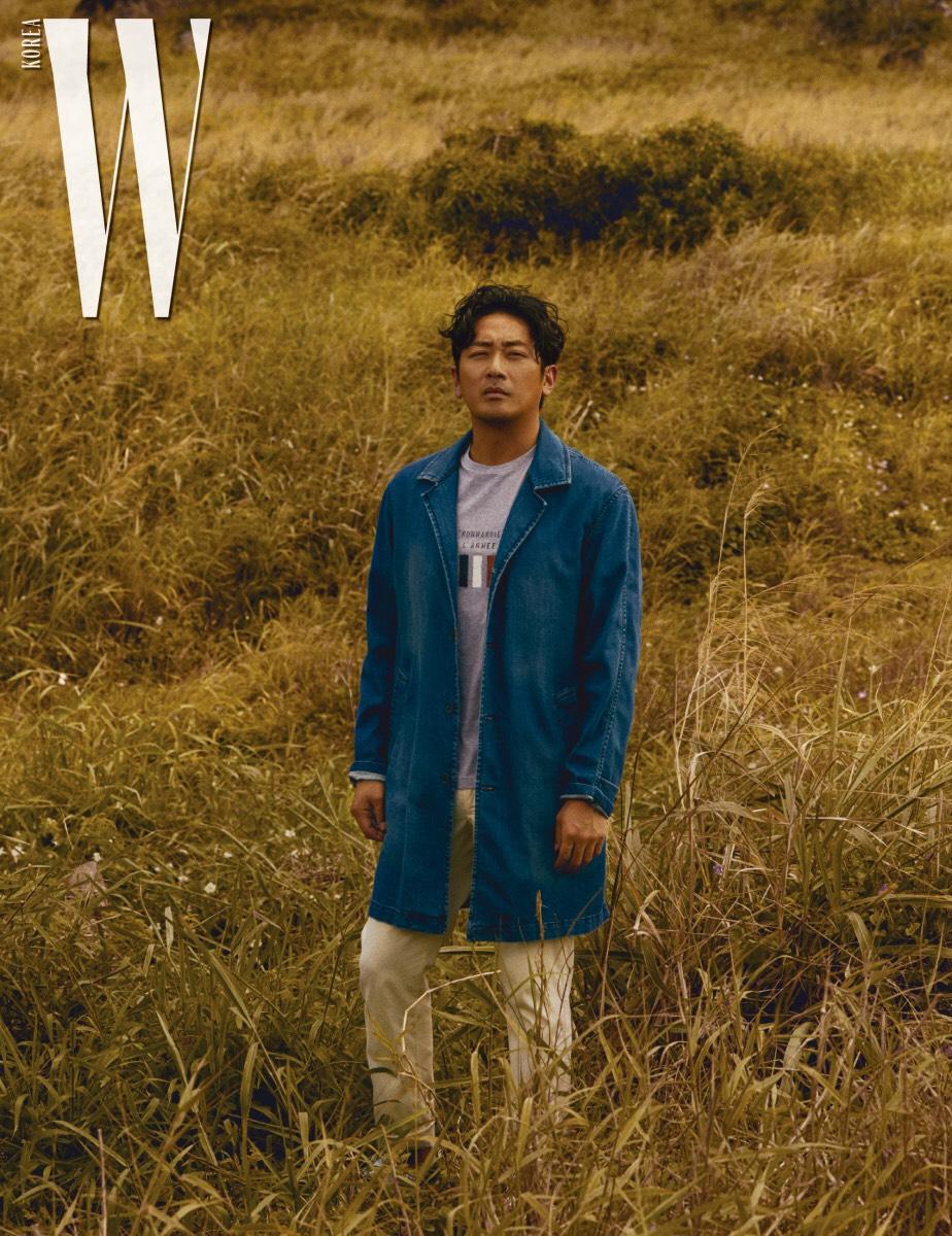 「The Editorials」李政宰&河正宇&鄭雨盛 X W Korea July 2018 – Mr. 布雷蕭