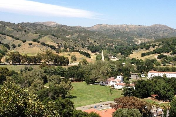 King Gillette Ranch from above