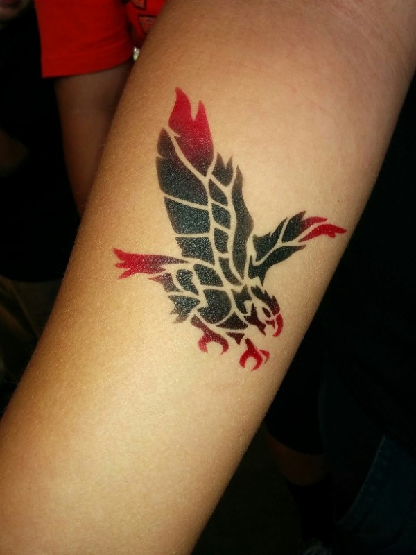 temporary airbrush tattoo sacramento