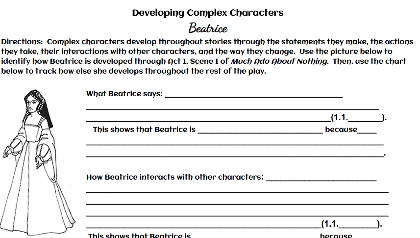 Developing Complex Characters