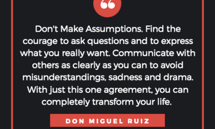 assumptions and why they hurt us