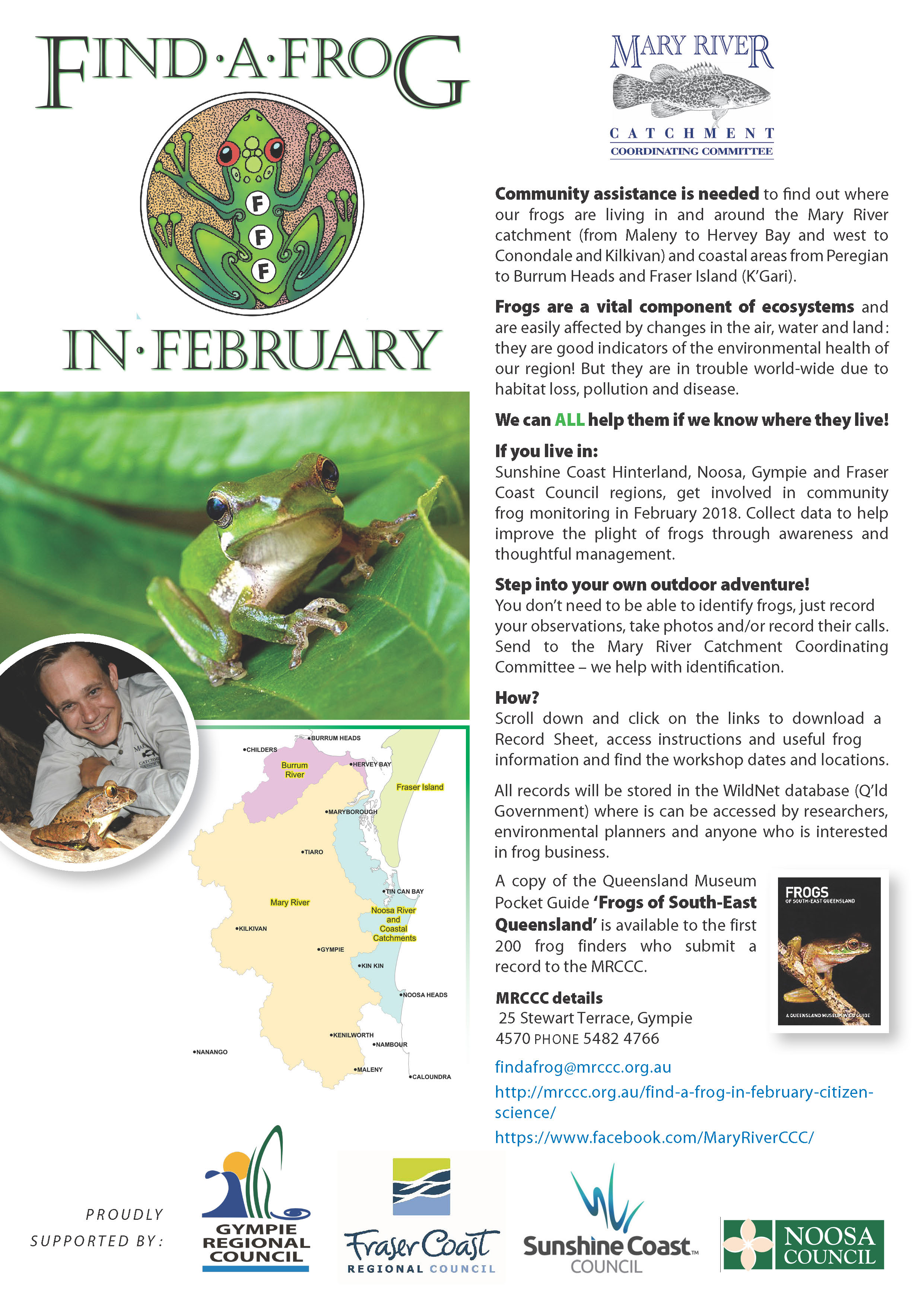 Get Ready To Find A Frog In February