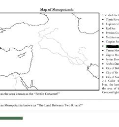 Mesopotamia - MR. CHAPMAN'S HISTORY CLASS [ 800 x 1035 Pixel ]