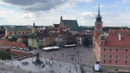 Old Town Warsaw (photo by Justin Reed