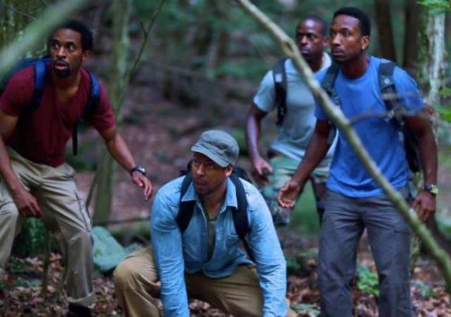 black men in the woods