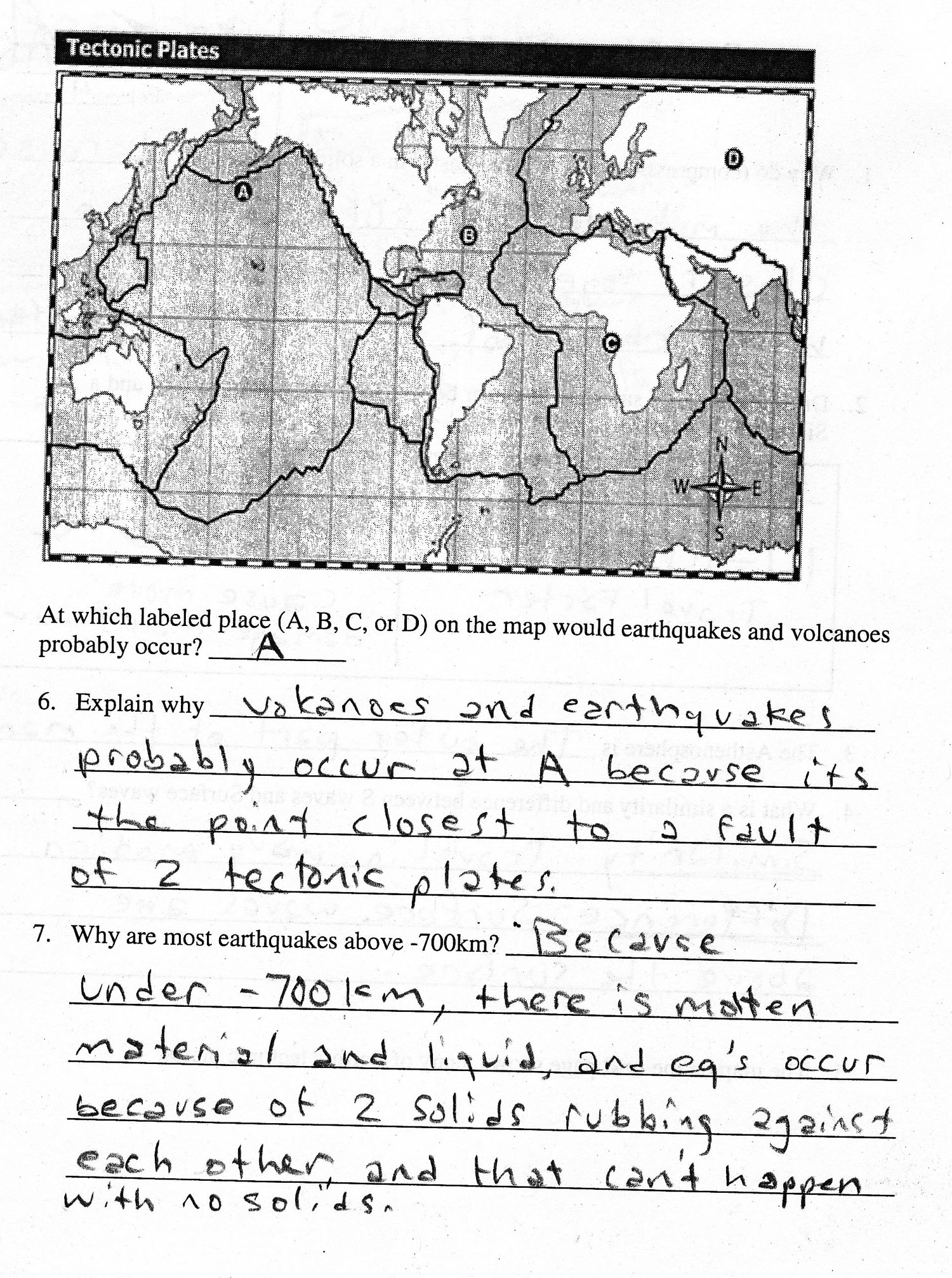 2010: 1st Quarter Assignments 8th Grade Earth Science