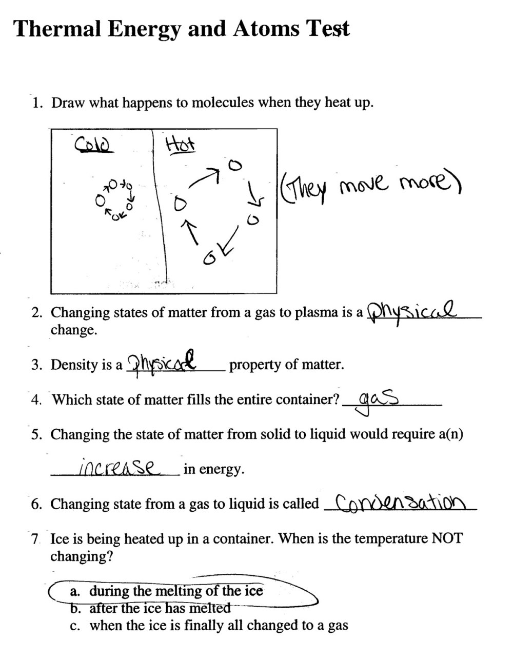 medium resolution of 2007: 3rd Quarter Assignments 6th Grade Physical Science – Crowderious  Maximus