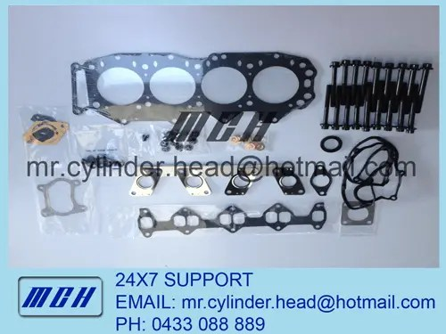 Ford Courier / Mazda Bravo WL-T WLT Head Gasket + Bolts