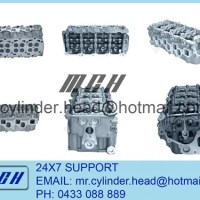 Nissan ZD30 complete head